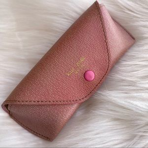 KATE SPADE Small Pink Glasses Case